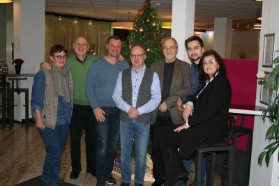 Unsere aktuelle GRÜNE Stavo-Fraktion grüßt alle Bürger*innen zum Jahreswechsel