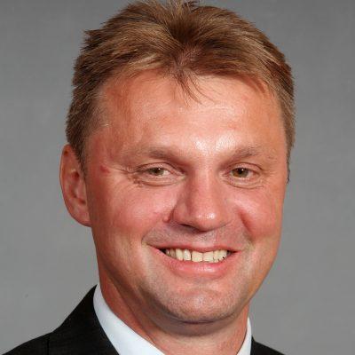 Henry Richter, neu gewählter 1. Stadtverordnetenvorsteher