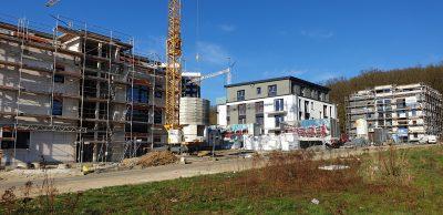 Neue Wohngebäude am Baunsberg