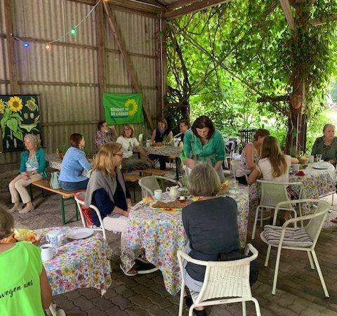Frühstück beim Grünen Frauentreffen