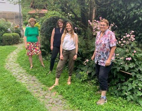 Das Vorbereitungsteam v.l.n.r. Monika Woizeschke-Brück, Damaris Müller, Franziska Bünsow, Juliane Kothe