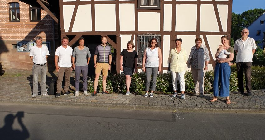 Stadtmarketing-Team mit Grüner StaVo-Fraktion