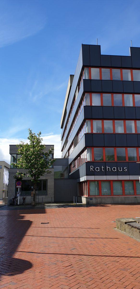Ansicht des Rathauses Baunatal