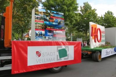 Festwagen der Stadt Vellmar