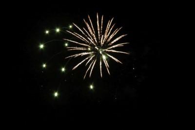 und noch mehr Feuerwerk